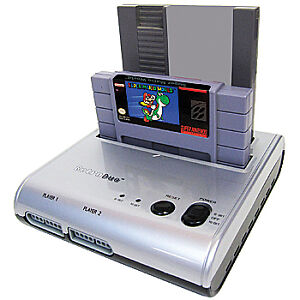 NEW Retro Duel Video Gaming Console - Original Nintendo & Super Nintendo Clone