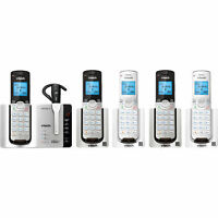 VTech DS6673-6 DECT 6.0 Cordless Phone System + Connect-to-Cell