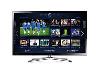 "60""SAMSUNG SMART 3D TV 600 HTZ FREE-VIEW HD AND BUILT IN WIFI AND WEB BROWSER"