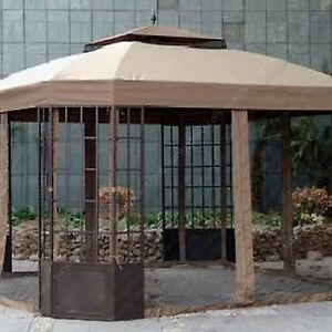 SUNJOY Gazebo Canopy and Side Panels
