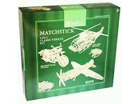 Matchstick models 3 in 1