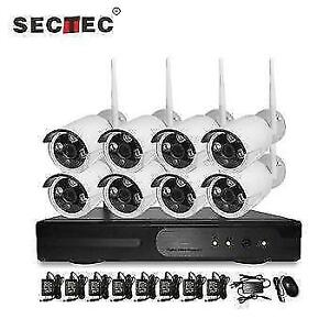KIT SECURITY CAMERAS SECURITE  + DVR - CCTV