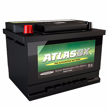 Atlas 628 12v 50ah Car Battery - Maiden Electronics Battery Fitment Centre