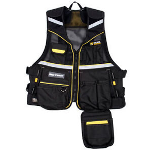 BRAND NEW IN PACKAGING-MIKE HOLMES-MULTI POCKET TOOK VEST
