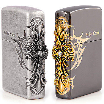Wholesale Job Lot Brand New Tribal Cross Asian Dragon Lighters With Gift Box High Quality