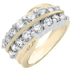 Luxurious, New w/Tag 14K Y Gold Pl.  Size 8 (more like 7 1/2)