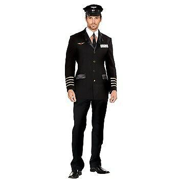 Mile High Pilot Hugh Jorgan Costume