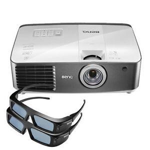 projecteur  BENQ W1500  1080p 2d/3d