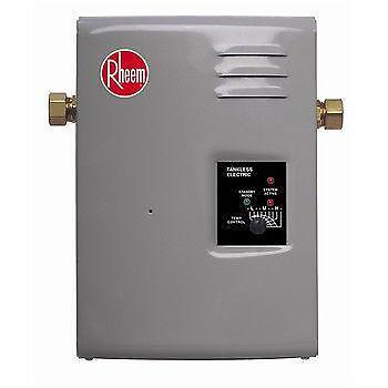 Rheem Tankless Water Heater Ebay