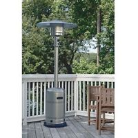 Stainless Steel Patio Heater Rental Propane Heater @ A to Z