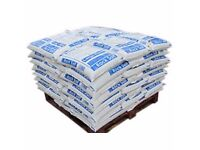 BRAND NEW 1 TONNE PALLET OF WINTER ICE MELT GRANUALS 40 X 25KG WINTER BAGS