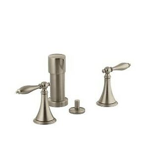 Kohler 316-4M-BV Finial Traditional Bidet Faucet With Lever Hand