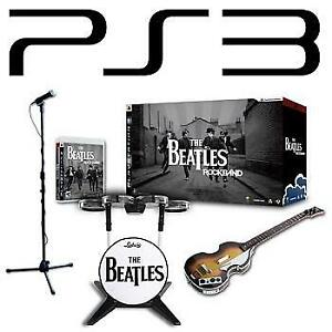NEW PS3 ROCKBAND BEATLES PREMIUM ED 228655586 Limited Edition Premium Bundle ROCK BAND VIDEO GAMES PLAYSTATION 3