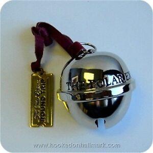 Hallmark 2007 polar express santa s sleigh bell dated 2007 mint in box
