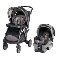 Graco Vance UrbanLite Travel System with SnugRide 30 Car Seat