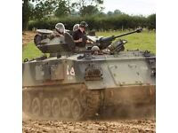 IntoTheBlue Experience Gifts & Memories -for example, Tank Driving Experience in Leicestershire