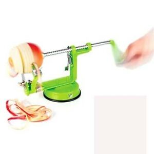 APPLE PEELER ,SLICER AND CORER, ,EASY TO USE AND ASSEMBLE , GREEN