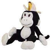 Stuffed Monkey with Banana