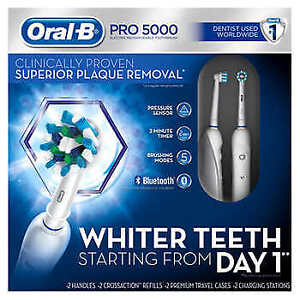 Brand NEW Oral-B Pro 5000 SmartSeries Power Rechargeable Electri