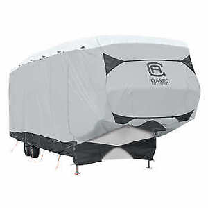 COVER FOR AN 40 FT.RV. FIFTH WHEEL TRAVEL TRAILER