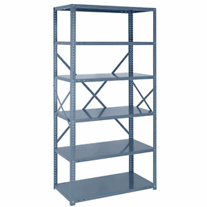 Variety of Steel Shelving (Complete Units and Parts)