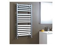Brand new Phoenix louvre towel radiator 1200x500 chrome