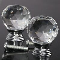 Brand New Crystal/Glas Furniture Pull/Knobs