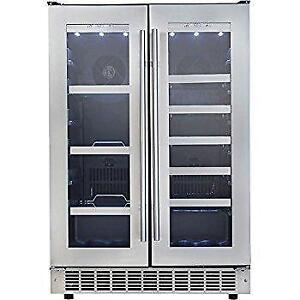 LIQUIDATION SALE ON BUILT-IN WINE FRIDGE / WINE COOLER!-CANT BEAT THIS DEAL!
