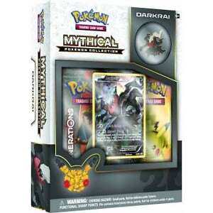 New Darkrai Mythical Collection Box Available @ Breakaway Monday