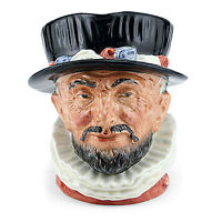 RETIRED ROYAL DOULTON  LARGE JUG  BEEFEATER. D6206.