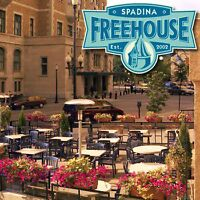 The spadina freehouse is looking for summer kitchen staff