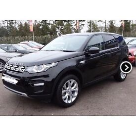 Beautiful Land Rover Discovery Sport