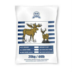 Sel Souffre Orignal Chevreuil Chasse , Sulfur Moose Hunting Salt