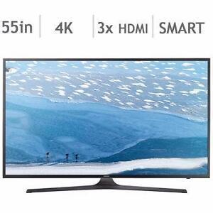 Télévision DEL 55'' UN55KU6290 4K Ultra HD 120CMR Smart Samsung