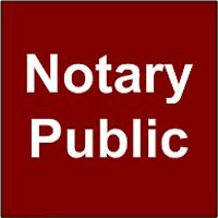 Notary Public Services from $10*-evenings and weekends