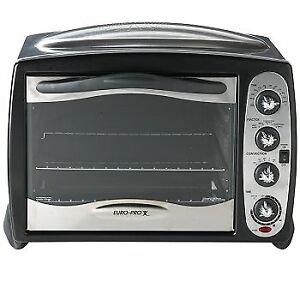 Euro-pro Toaster Oven with Convection (2 racks)