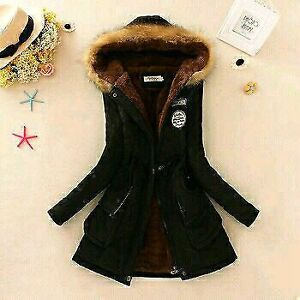 2016 Winter Coat Women fur Outwear Medium-Long Wadded