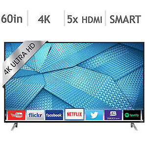 "NO TAX SALE-LED TV 60""-4k-ultra hd smart wifi--SLIM-VIZIO-$699.9"