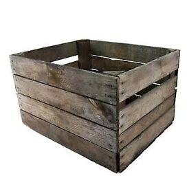 Vintage Apple Crates / French Bushel Boxes