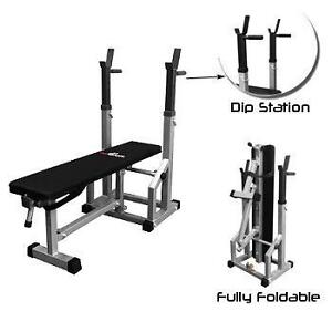 AmStaff TB018A Multifunctional Adjustable Flat-Incline Press Bench - Brand New