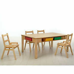 Kids Table Set with 4 Chairs