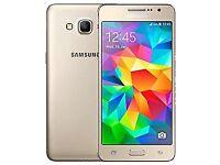 SAMSUNG GALAXY GRAND PRIME PLUS 2016 (SIM FREE) 4G LTE DUAL SIM-GOLD