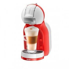 Dolce Gusto Mini Me Automatic Red & White by De'longhi