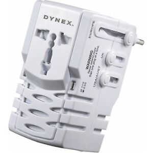 Dynex - Adapter and Converter All-In-One Adapter