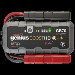 GB70 Boost HD 2000A 12V UltraSafe Lithium Jump Starter Downtown-West End Greater Vancouver Area image 1