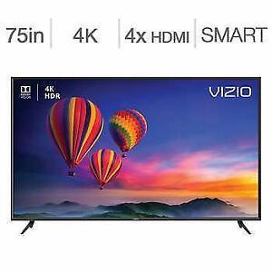 Télévision LED TV 75'' POUCE E75-F2 4K ULTRAUHD HDR 120hz SmartCast Wi-Fi Vizio - BESTCOST.CA