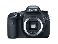 Canon EOS 7D SLR Digital Camera Body