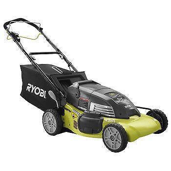 Cordless Self Propelled Lawn Mower Ebay