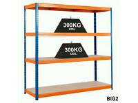 Garage Racking/Shelving 1800x1800x600mm