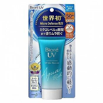 KAO Biore UV Aqua Rich Watery Essence SPF50+PA++++ 50g Sunscreen Cream